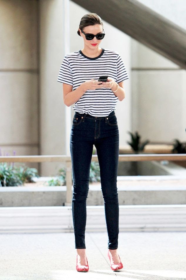 Le Fashion Blog Miranda Kerr Casual Chic Striped Tee High Waisted Jeans Red Heels LAX Airport Via Zimbio photo Le-Fashion-Blog-Miranda-Kerr-Casual-Chic-Striped-Tee-High-Waisted-Jeans-Red-Heels-LAX-Airport-Via-Zimbio.jpg
