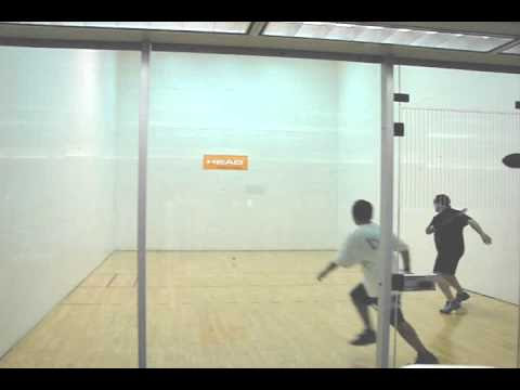 How to Play Racquetball – Oscar Game Play Analysis 2