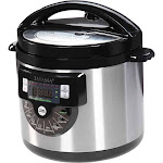 6 qt Electric Pressure Cooker with Stainless Steel Pot FI932952