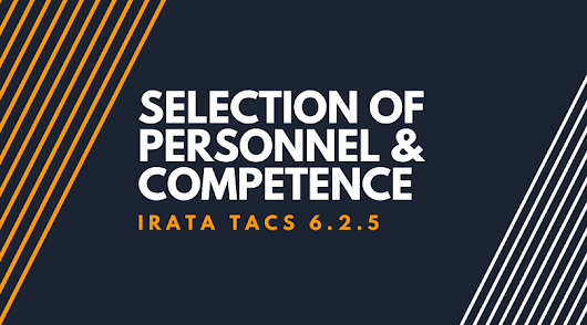Understanding the IRATA L1 Syllabus: Selection of Personnel and Competence