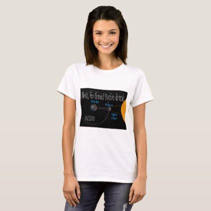 Solar Eclipse 2017 Drunk Moon Women's T-Shirt