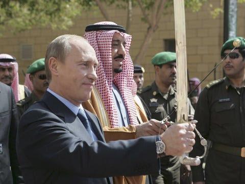 putin salman saudi arabia russia