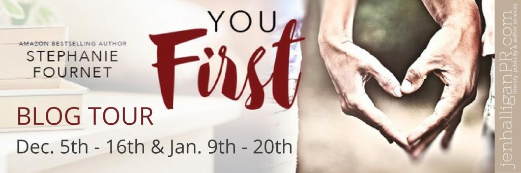 You First Blog Tour | JenHalliganPR.com