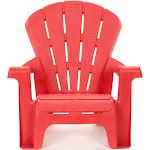 Little Tikes Garden Outdoor Portable Chair - Red