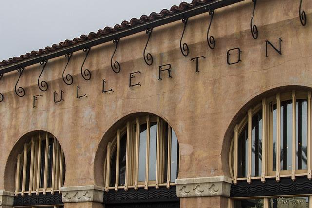 Fullerton train station