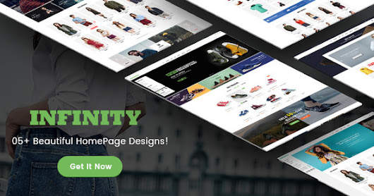 Download Infinity - Fashion/Sport eCommerce PSD Template nulled | OXO-NULLED