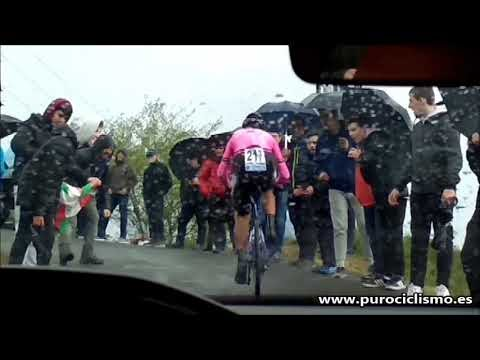 El vídeo de la contrarreloj de Carlos Julián Quintero en la Vuelta al País Vasco 2019