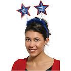 Forum Novelties Patriotic Headband-Standard Blue