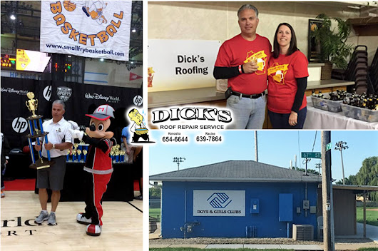 Dick's Roof Repair Service - Giving Back to Kenosha - Dick's Roofing