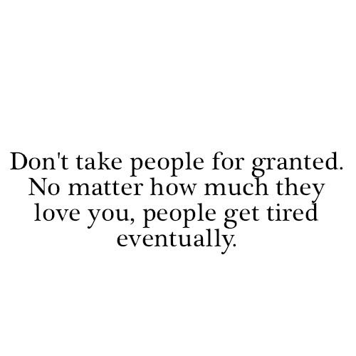 U Take Me For Granted Quotes The Christmas Tree