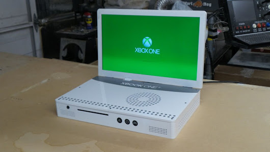 This guy turned an Xbox One S into a laptop