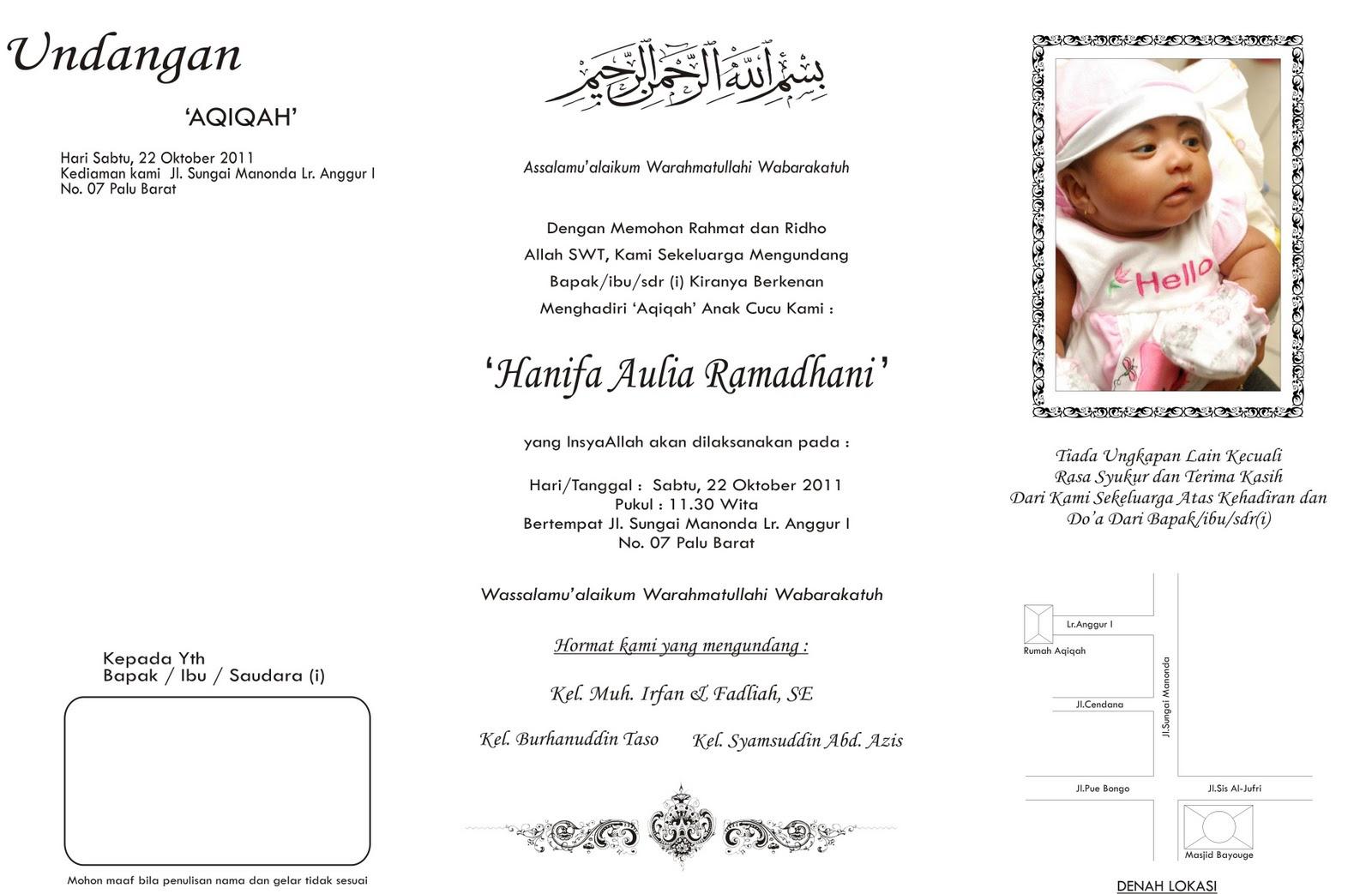 contoh surat undangan buat anak yatim contoh isi undangan