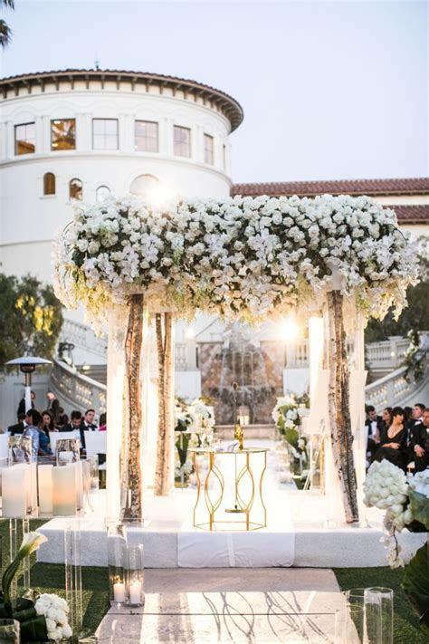 Glamorous White California Wedding at the Monarch Beach