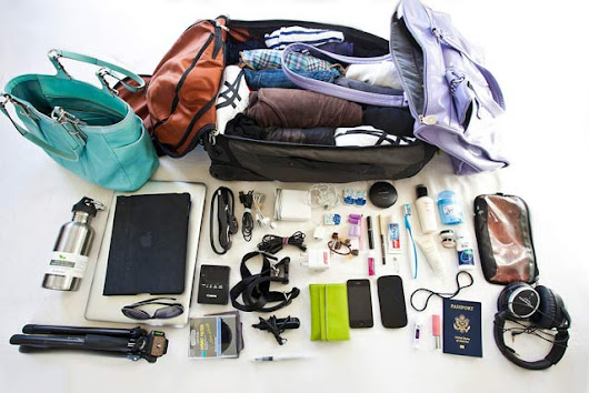 Essential Things To Pack For Travelling - General Queen