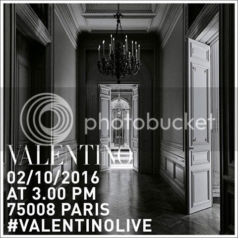 Valentino spring summer 2017 show livestream