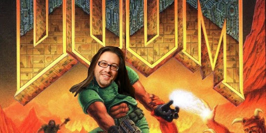 Doom's cover art had one secret—and John Romero just spilled it