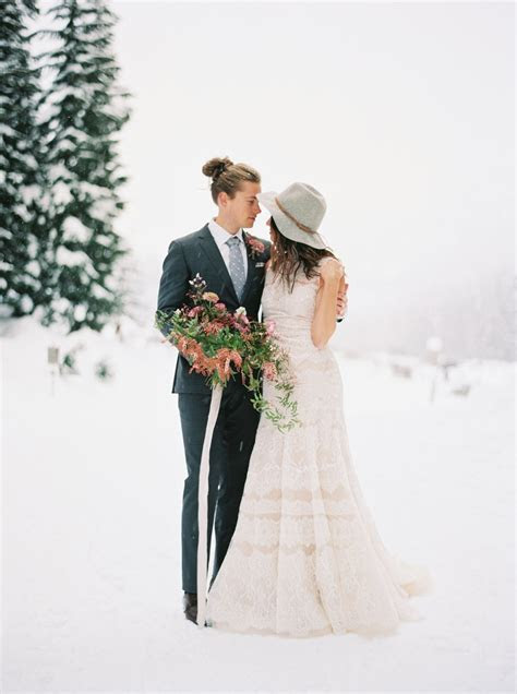 Gallery   How To Have A Winter Wedding With An Alternative
