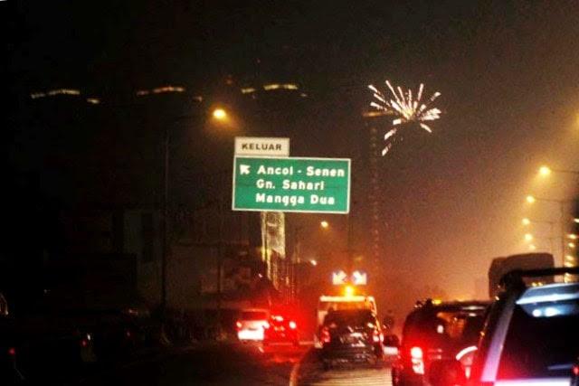 jalan ancol malam tahun baru 2015