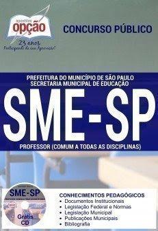 Apostila SME/SP - cargo Professor de Educação Infantil.