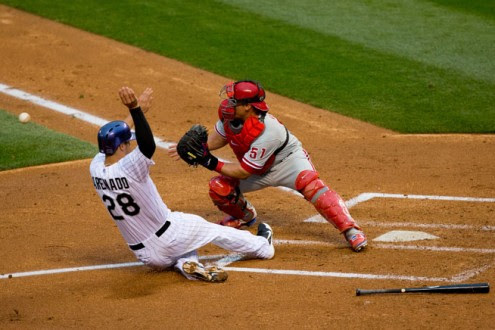 Home plate rule needs further review