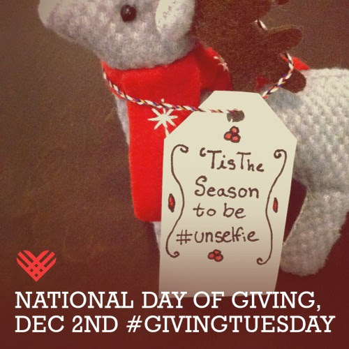 Be #unselfie on #Giving Tuesday | Tyler Arboretum