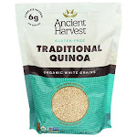 Ancient Harvest Organic Quinoa Traditional 27 Oz. Bag Essential Gluten-free Whole Grain Quinoa Packed With Protein An Easy To Prepare Supergrain