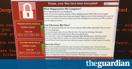 NHS hospitals across England hit by large-scale cyber-attack | Society | The Guardian