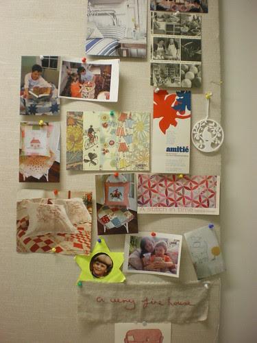 inspiration board beginnings