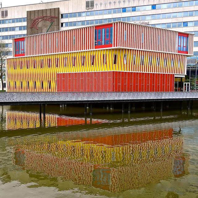 Duisenberg Pavilion, University of Groningen, The Netherlands
