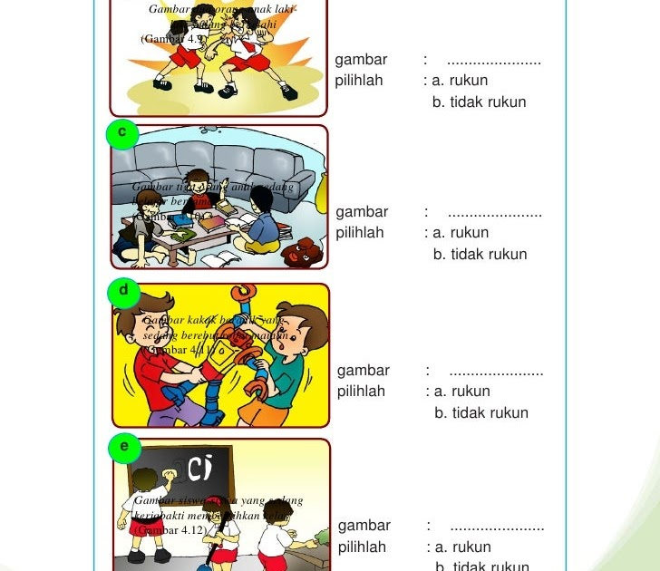 Contoh Gambar Untuk Anak Sd - Contoh II