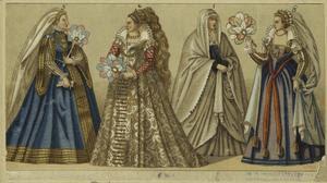 [Italian women, sixteenth cent... Digital ID: 811568. New York Public Library