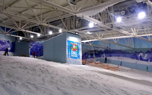 UK's longest indoor ski slope Chill FactorE closes due to lack of snow