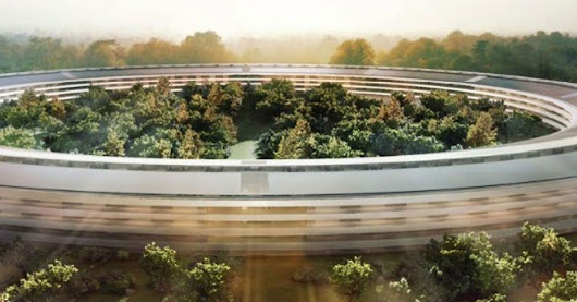 Official Apple 'Spaceship' Campus Model Makes Its Debut