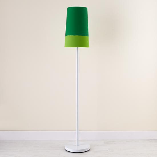 Early Bird Floor Lamp (White Shade) in Floor Lamps | The Land of Nod