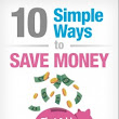 10 Simple Ways to Save Money - That Adds Up