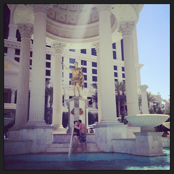Had a lovely afternoon at the pool! #vegas