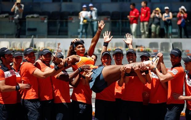 serena williams tenis madri campeã (Foto: Reuters)