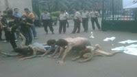 Puluhan Orang Demo di DPR Tolak RUU Kamnas