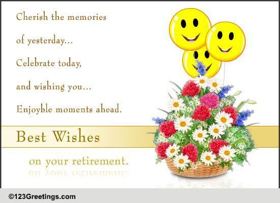 Best Wishes For Retirement Free Retirement Ecards Greeting Cards