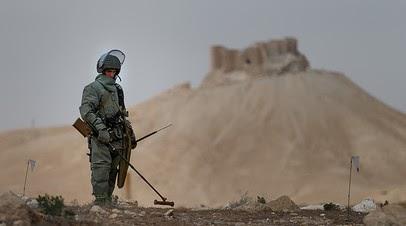 Российские сапёры обезвредили более 150 тысяч взрывоопасных предметов в САР