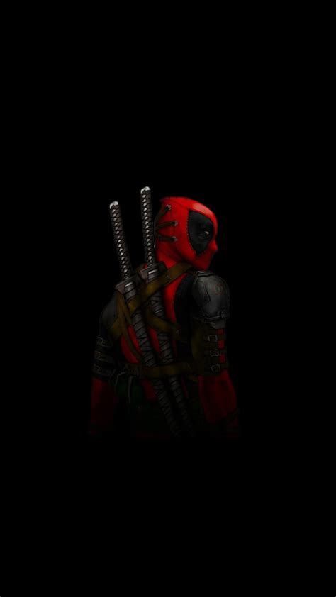 deadpool amoled iphone wallpaper iphone wallpapers