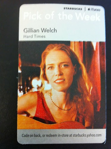 Starbucks iTunes Pick of the Week - Gillian Welch - Hard Times