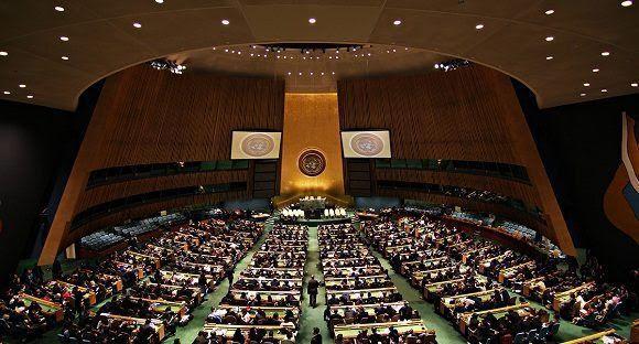 Asamblea General de la ONU. Foto: Archivo.