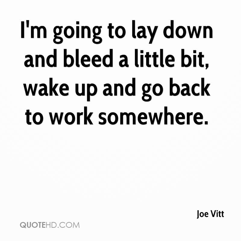 Joe Vitt Quotes Quotehd