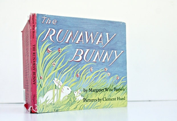Vintage Children's Book The Runaway Bunny by by msjeannieology