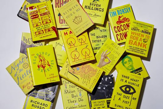 Book Covers See Yellow to Attract Online Shoppers - WSJ