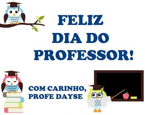 Feliz nosso dia! by Menina Prendada -