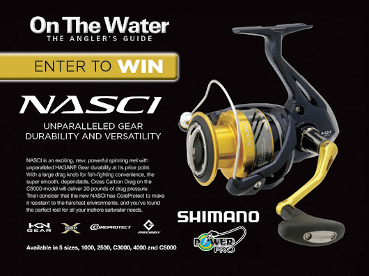 Win A Shimano Nasci Spinning Reel