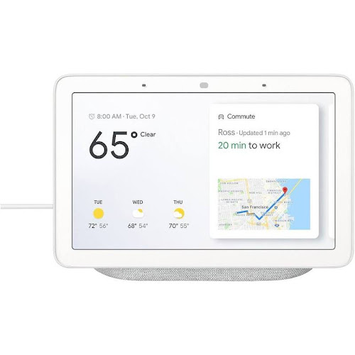 Google Home Hub - Smart Home Controller with Google Assistant GoogleHome-Hub-Chalk