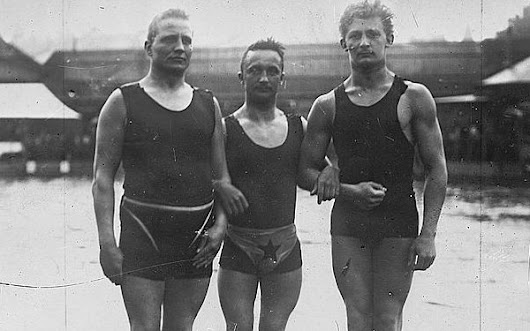 This Is What the Olympians From 100 Years Ago Looked Like